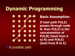 dynamic programming29