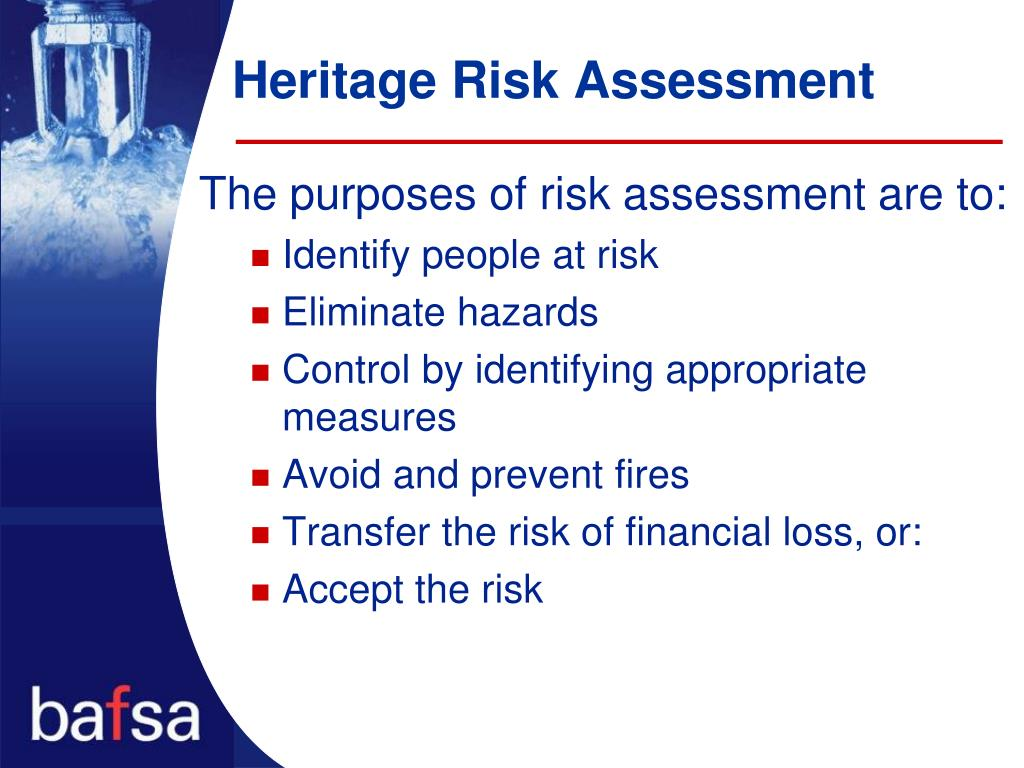 Heritage Risk Assessment