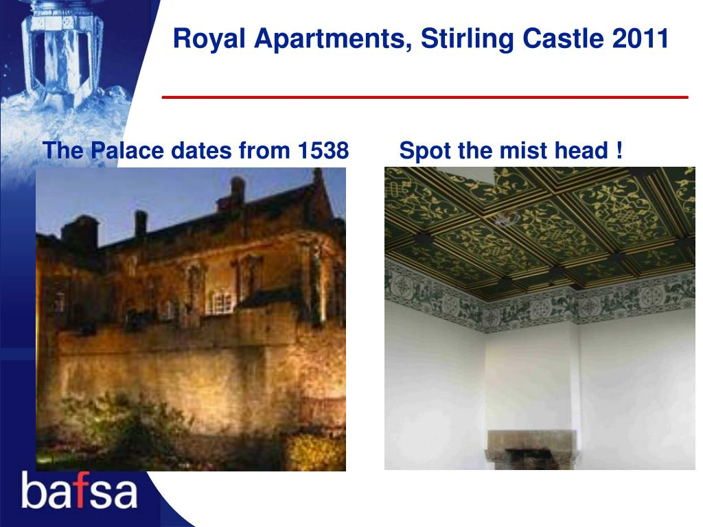 Royal Apartments, Stirling Castle 2011