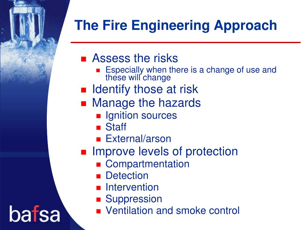 The Fire Engineering Approach