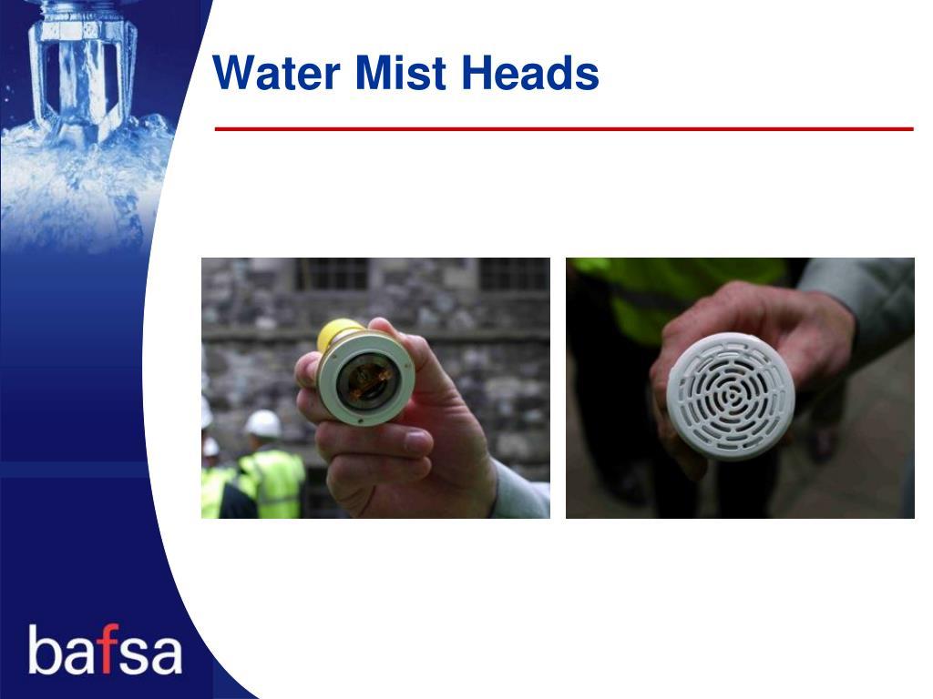 Water Mist Heads