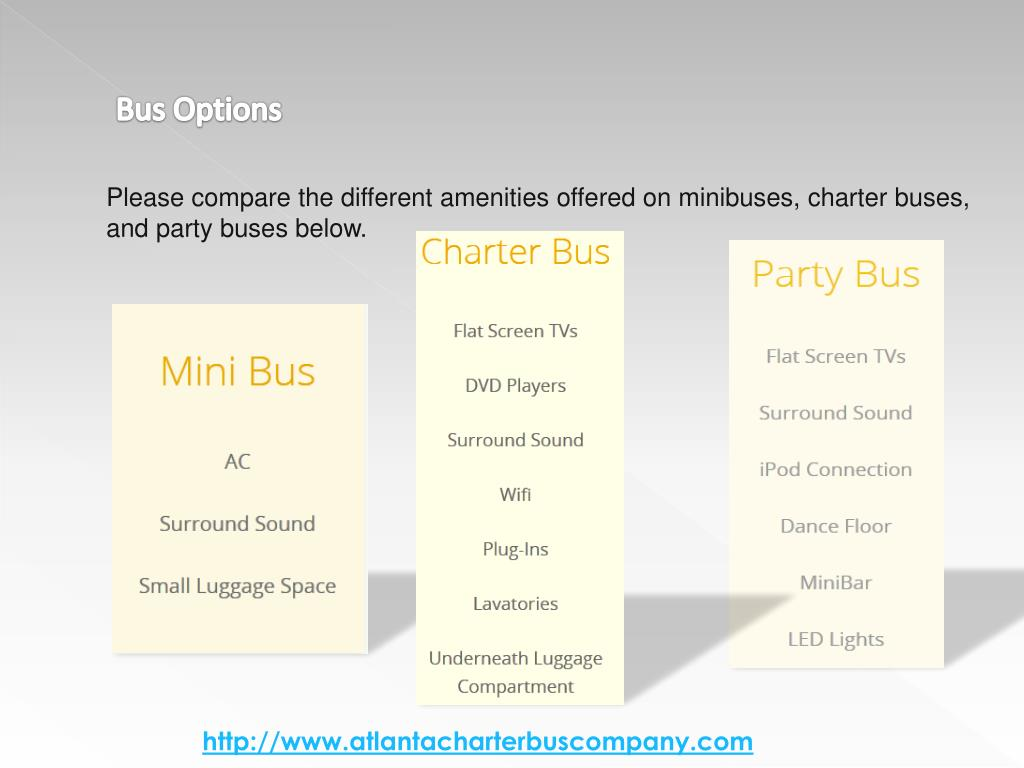 Bus Options