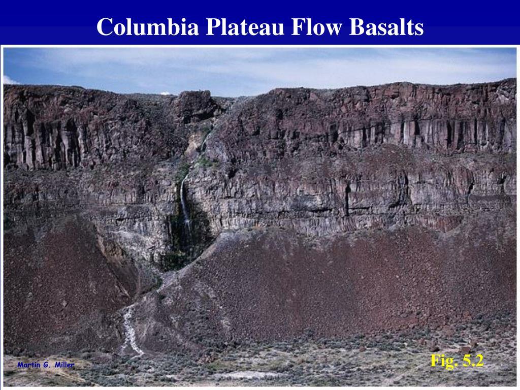 Columbia Plateau Flow Basalts