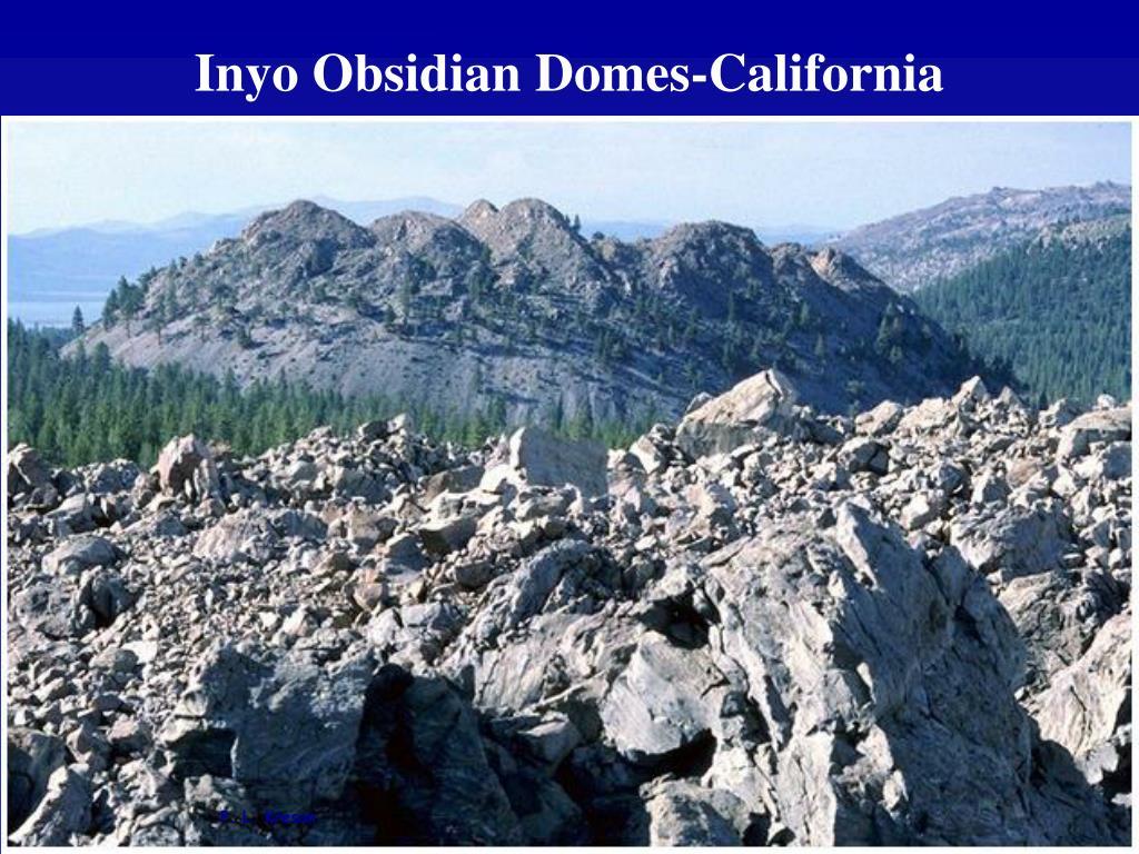 Inyo Obsidian Domes-California