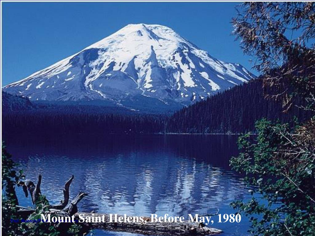 Mount Saint Helens – Before May 1980