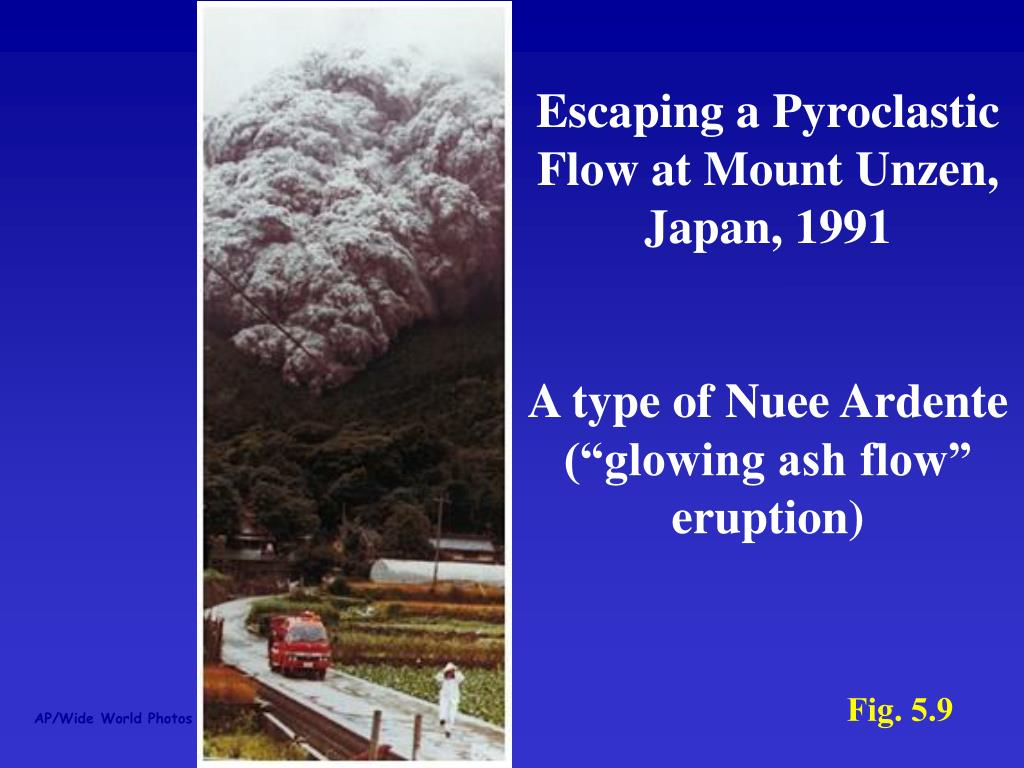 Escaping a Pyroclastic Flow at Mount Unzen, Japan, 1991