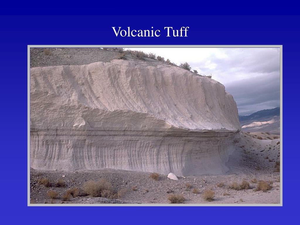 Volcanic Tuff