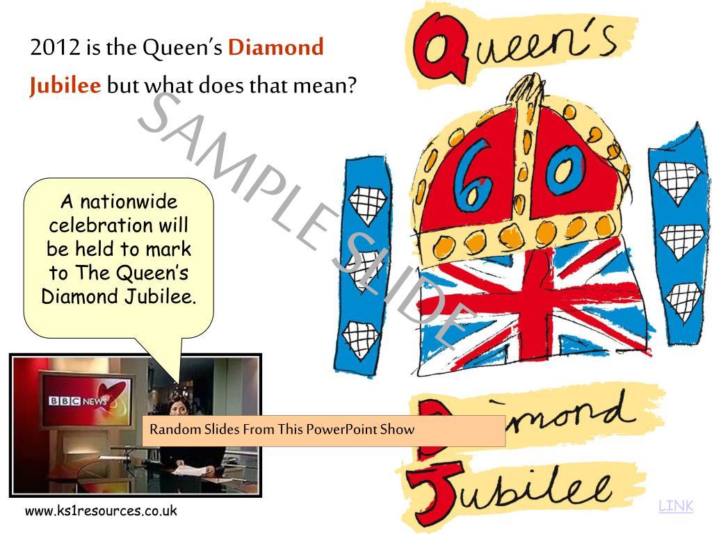 2012 is the Queen's