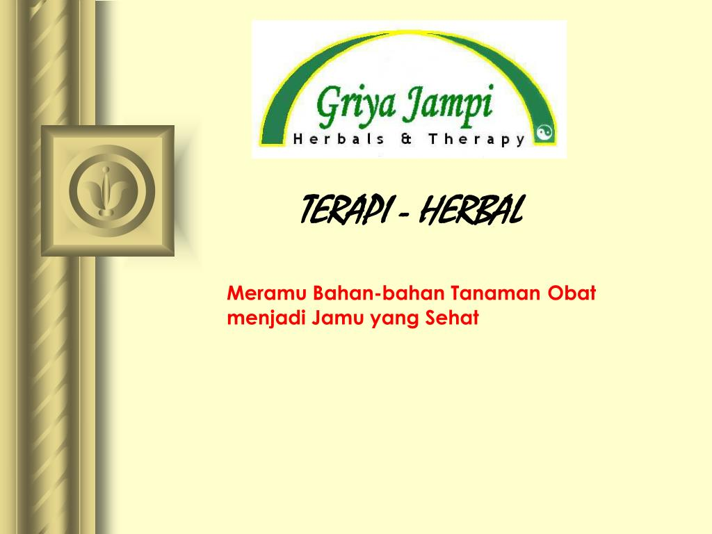 terapi herbal
