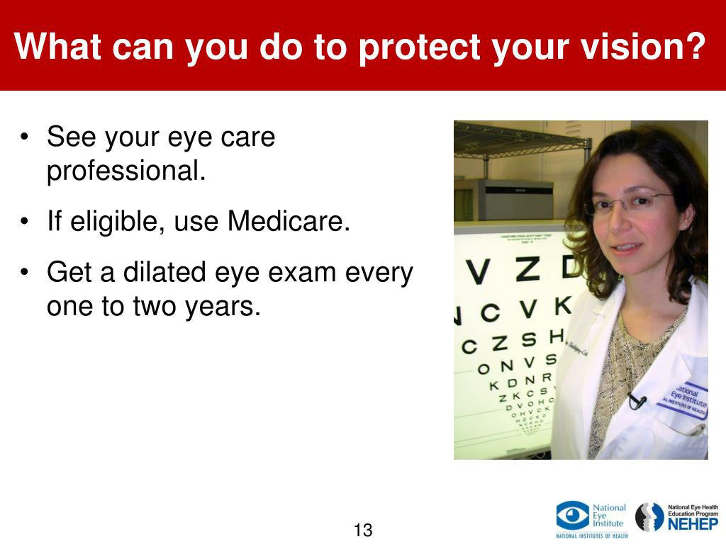 What can you do to protect your vision?