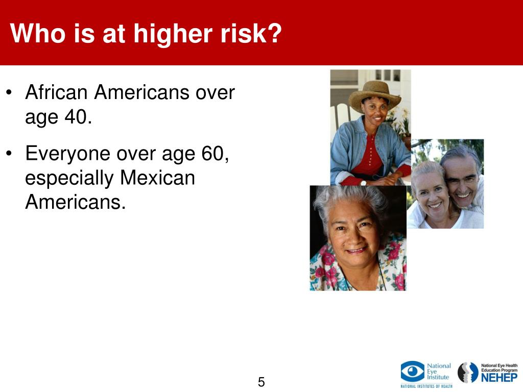 Who is at higher risk?