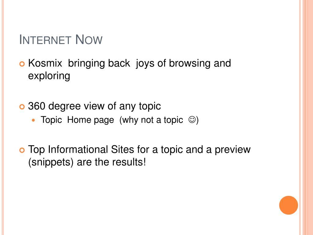 Internet Now