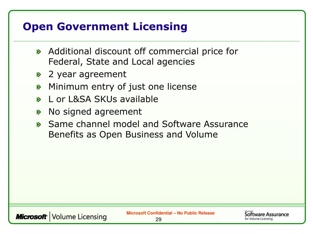 Open Government Licensing
