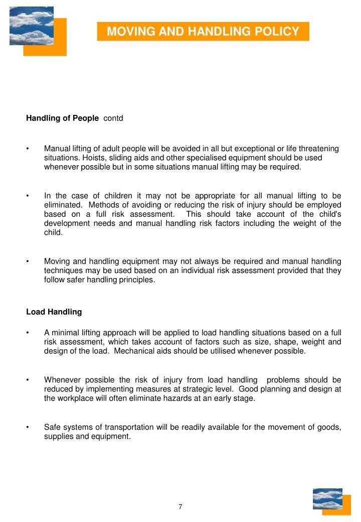 Handling of People