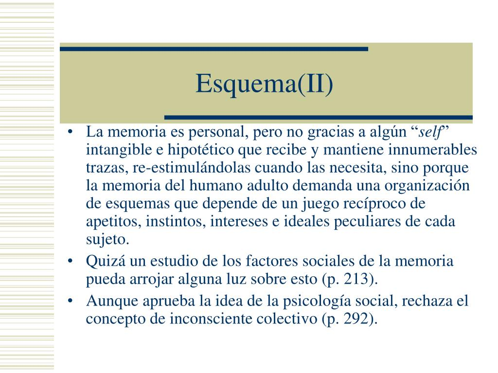 Esquema(II)