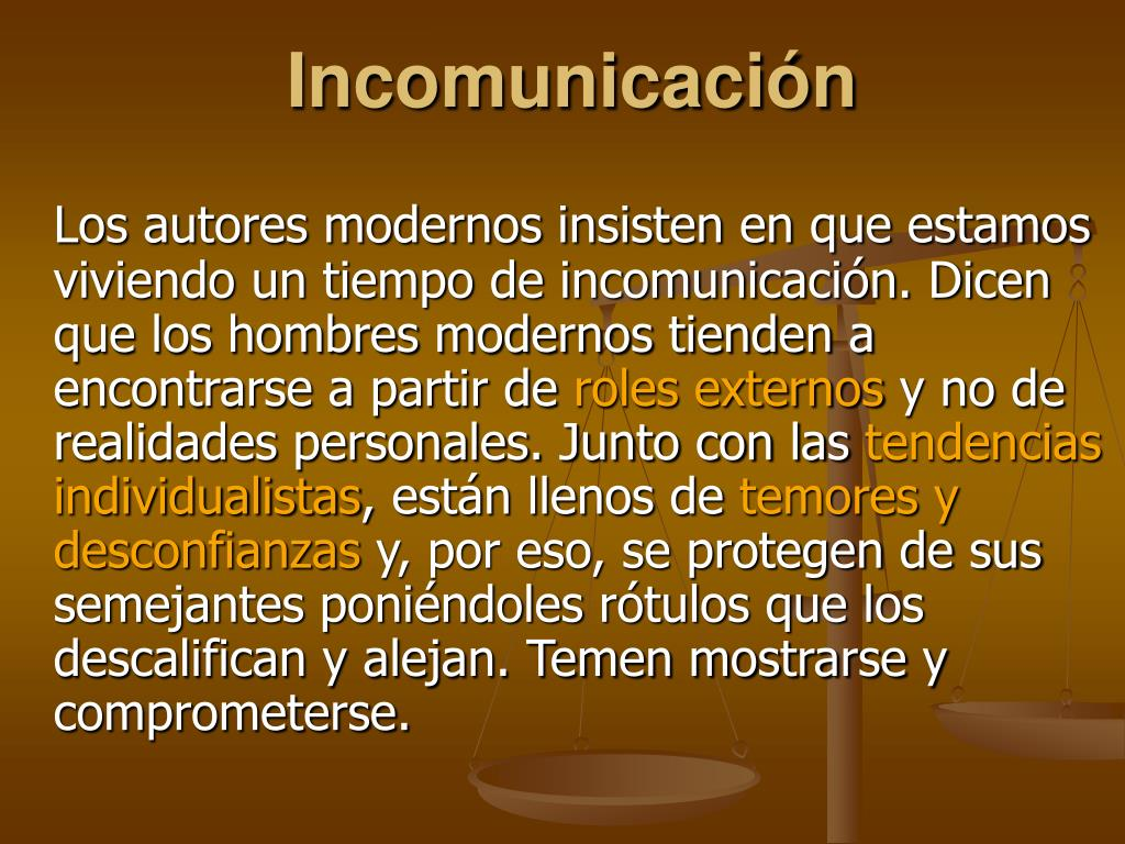 Incomunicación