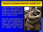 abrazo de chara a pinochet banzer 1975
