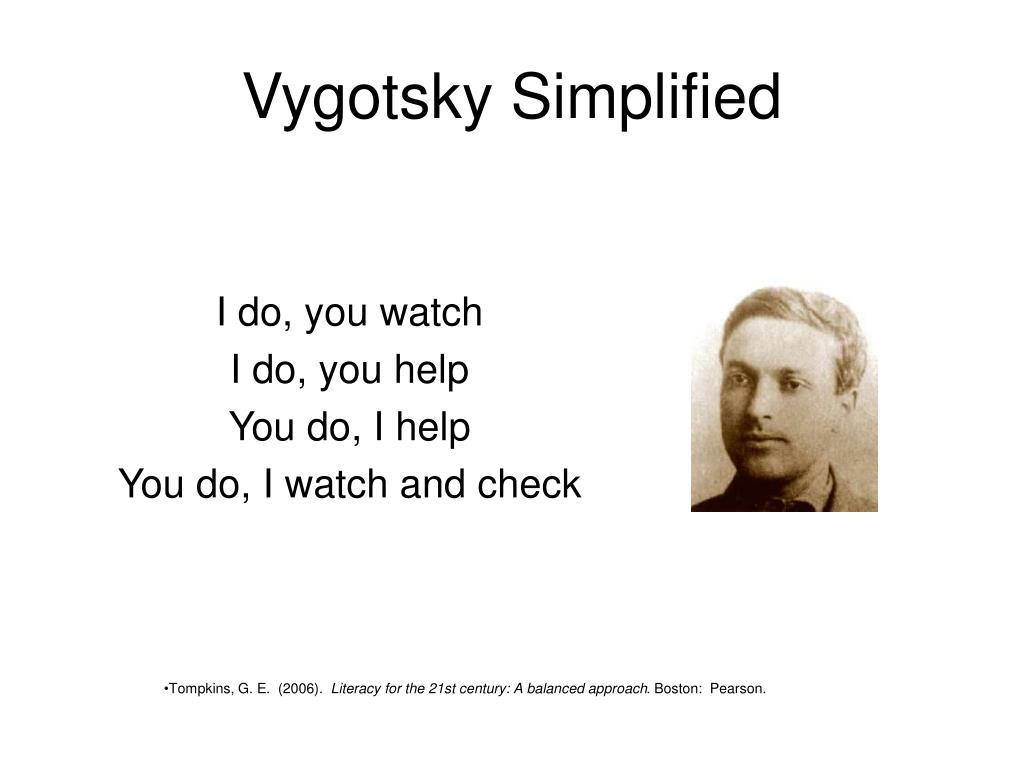 Vygotsky Simplified