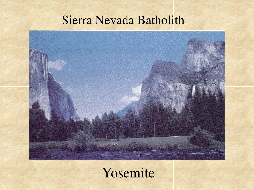 Sierra Nevada Batholith