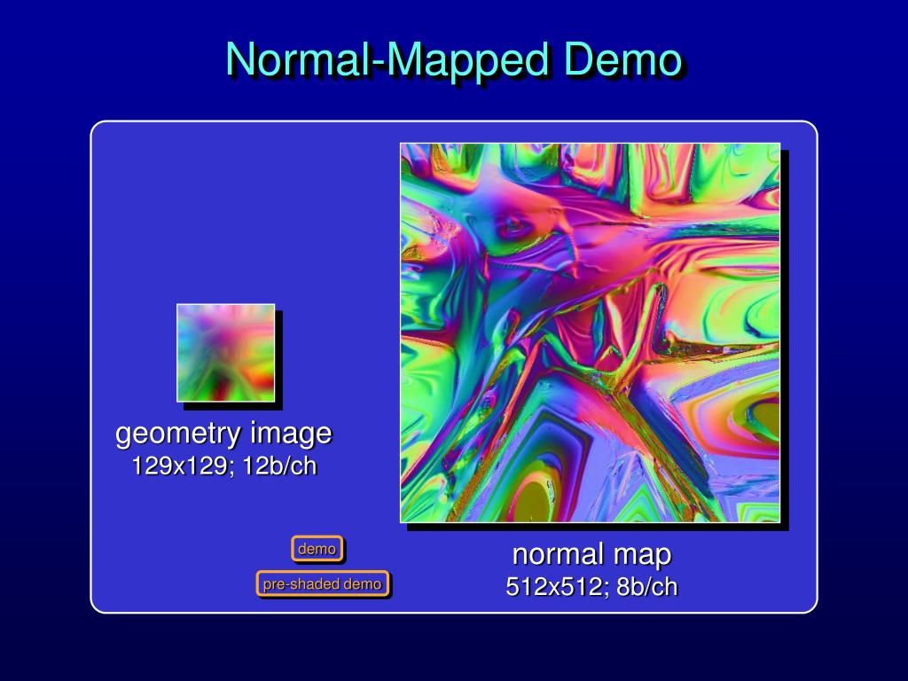 Normal-Mapped Demo