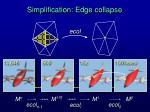 simplification edge collapse