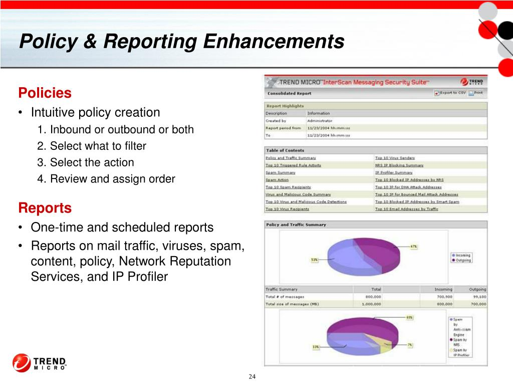Policy & Reporting Enhancements