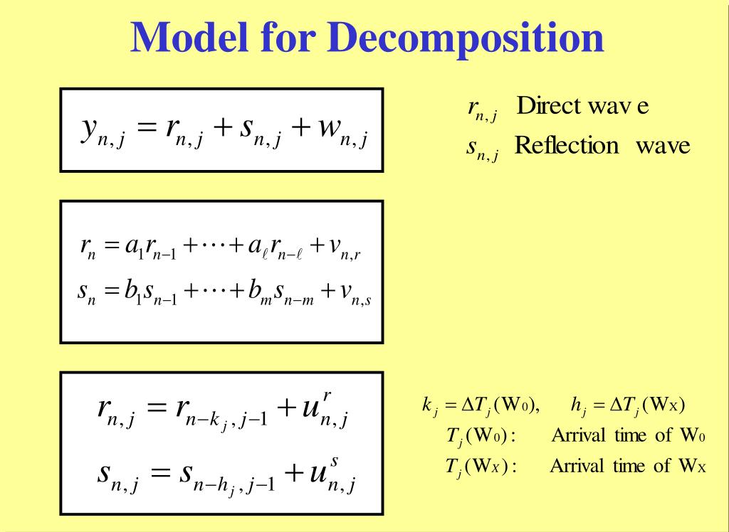 Model for Decomposition