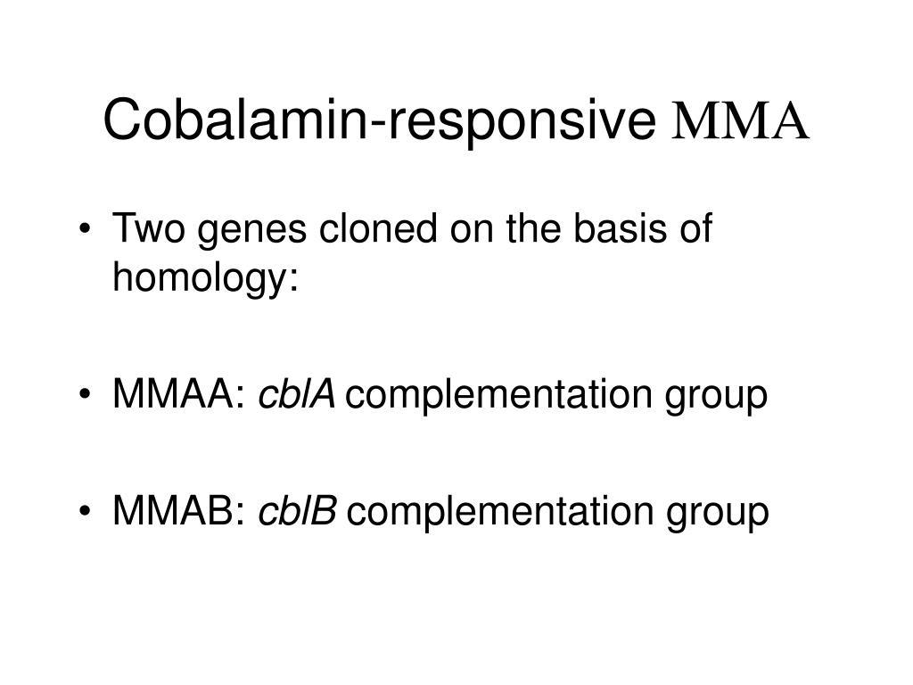 Cobalamin-responsive
