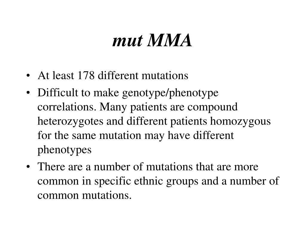 mut MMA