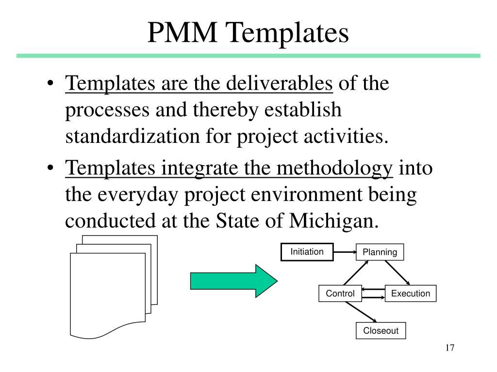 PMM Templates