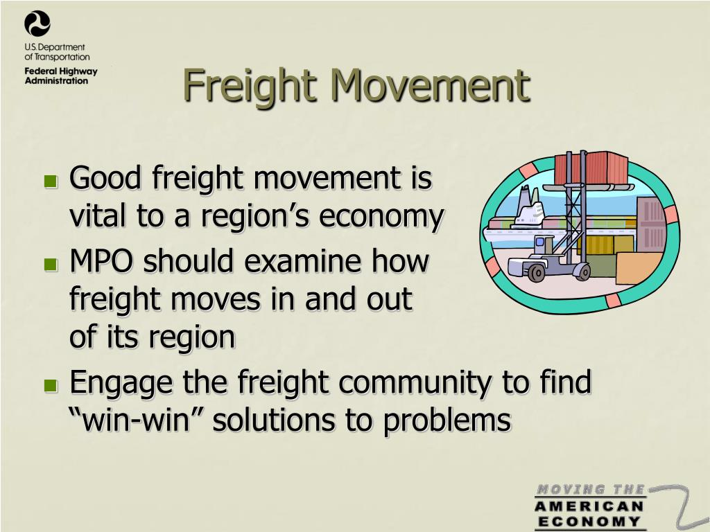 Freight Movement