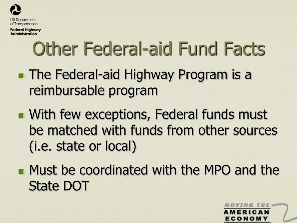 Other Federal-aid Fund Facts