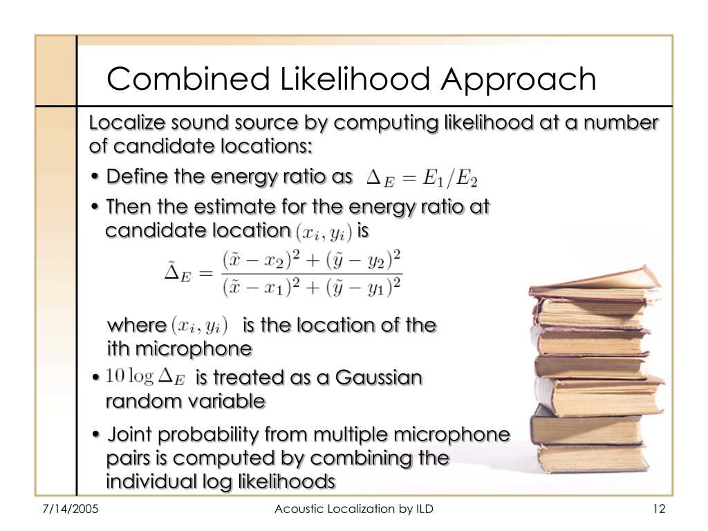 Combined Likelihood Approach