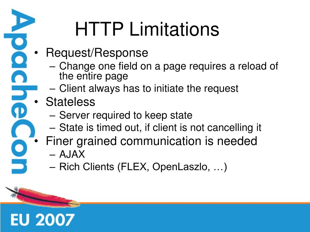 HTTP Limitations