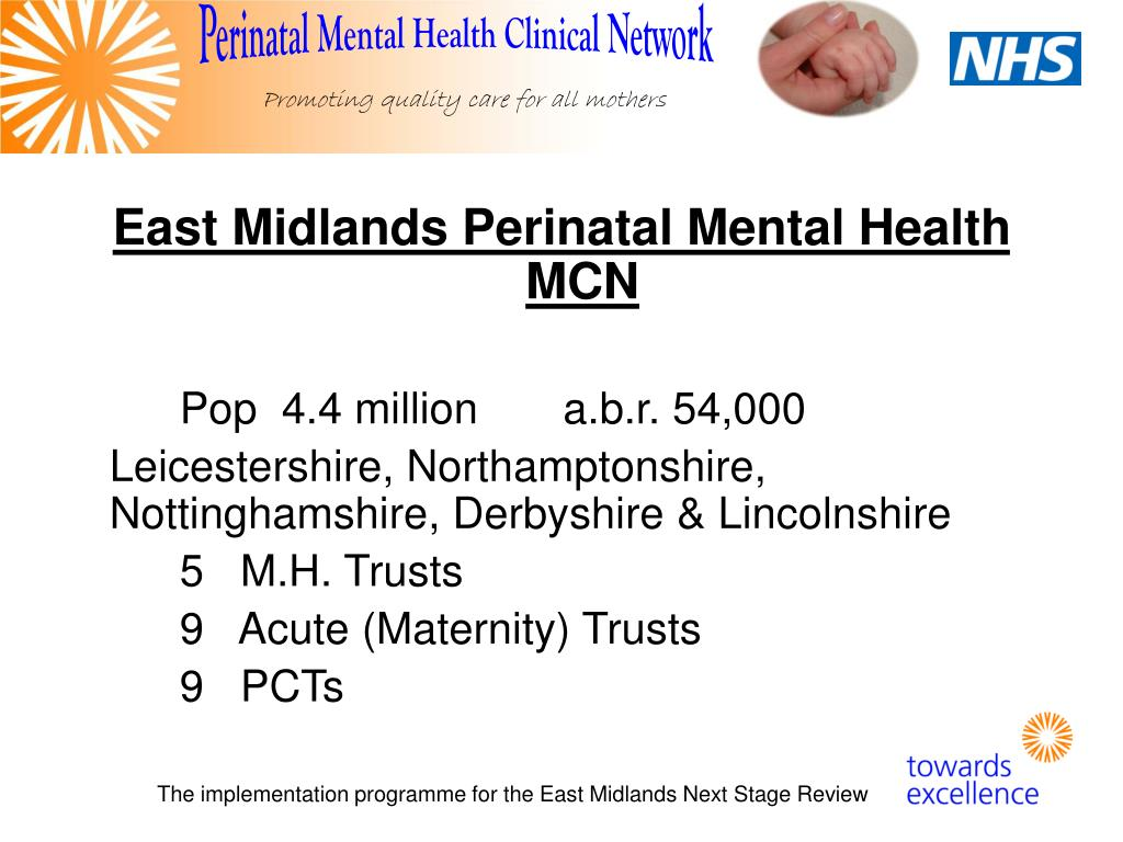 East Midlands Perinatal Mental Health MCN
