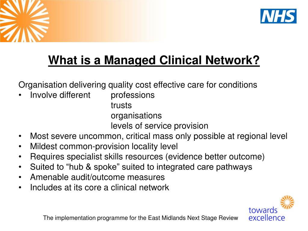 What is a Managed Clinical Network?