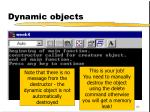 dynamic objects62