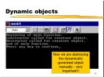 dynamic objects64