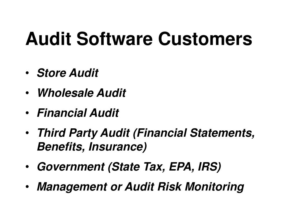 Audit Software Customers