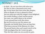 sonnet 141