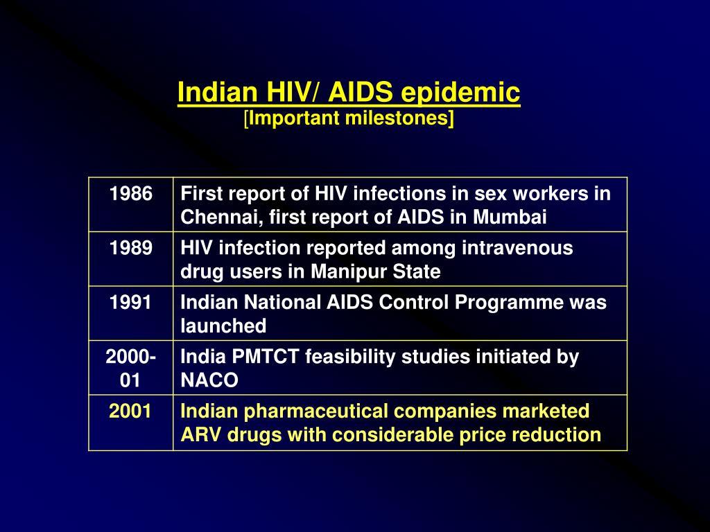Indian HIV/ AIDS epidemic
