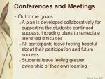 conferences and meetings20