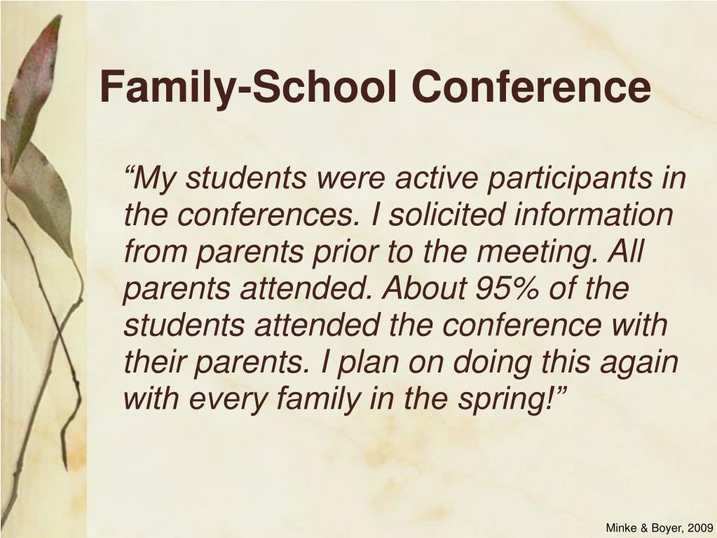 Family-School Conference
