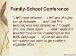 family school conference24