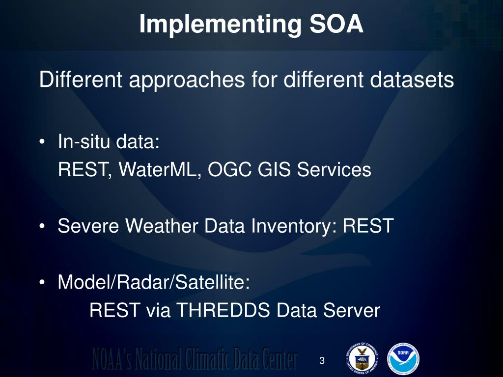 Implementing SOA