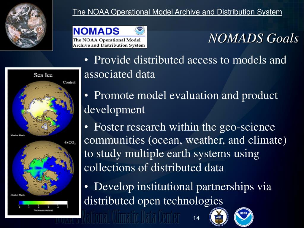 The NOAA Operational Model Archive and Distribution System