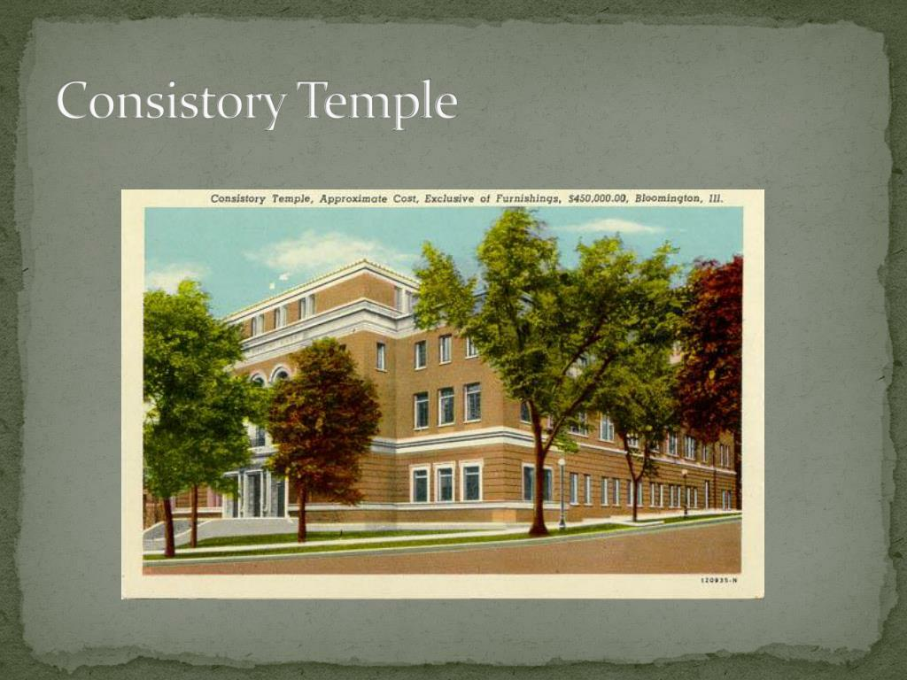 Consistory Temple