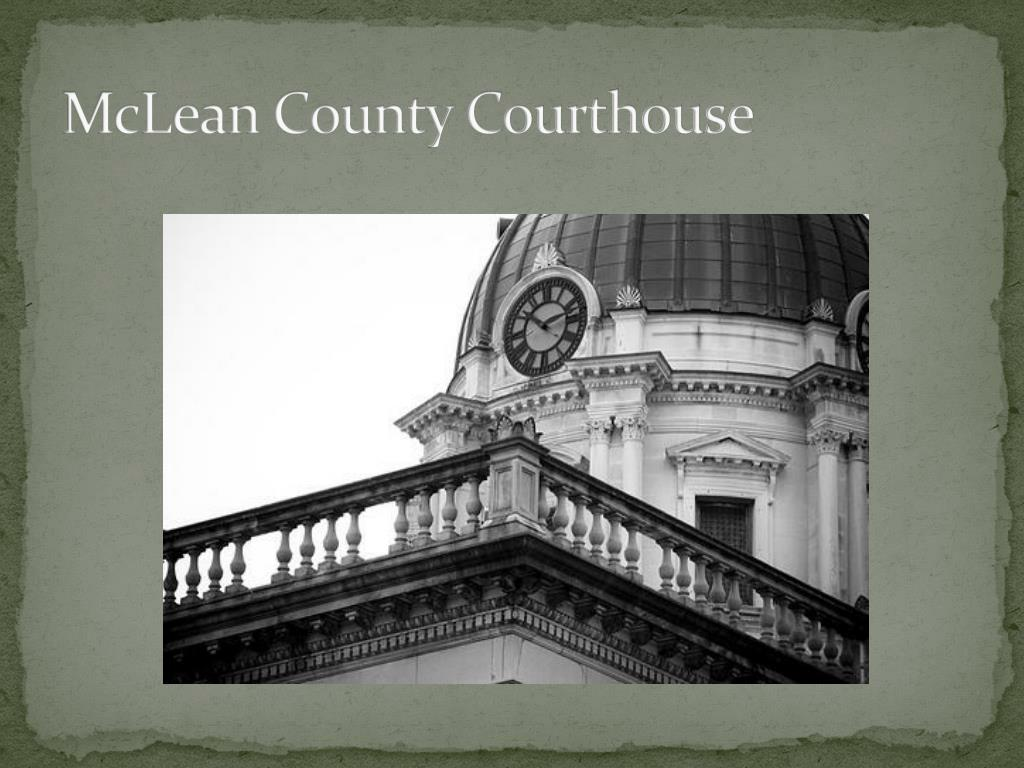 McLean County Courthouse