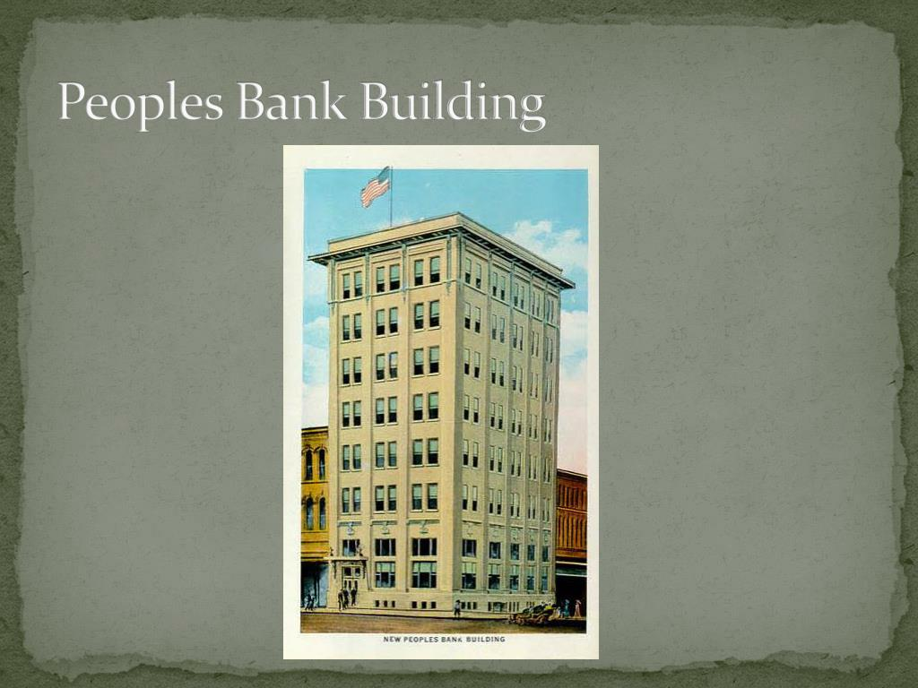 Peoples Bank Building