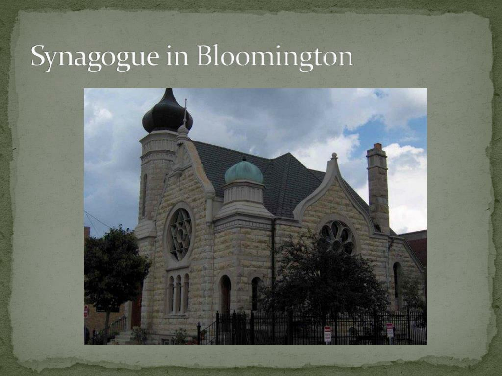 Synagogue in Bloomington